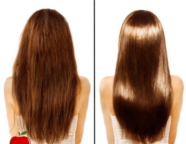 cheveux vinaigre
