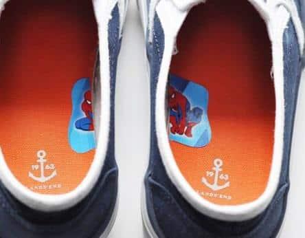 chaussures droite gauche
