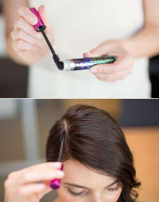 mascara cheveux