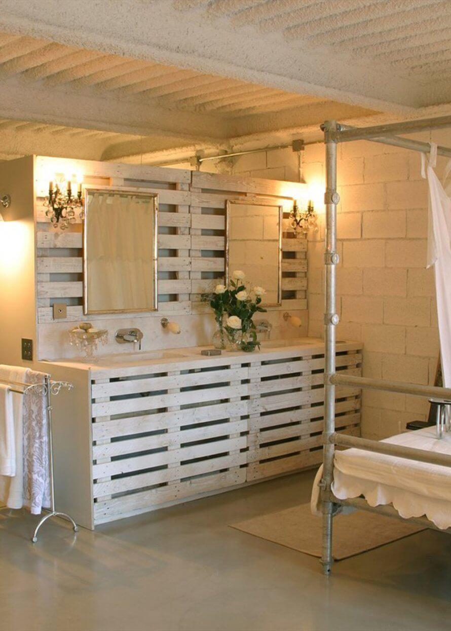 Palette Pour Salle De Bain