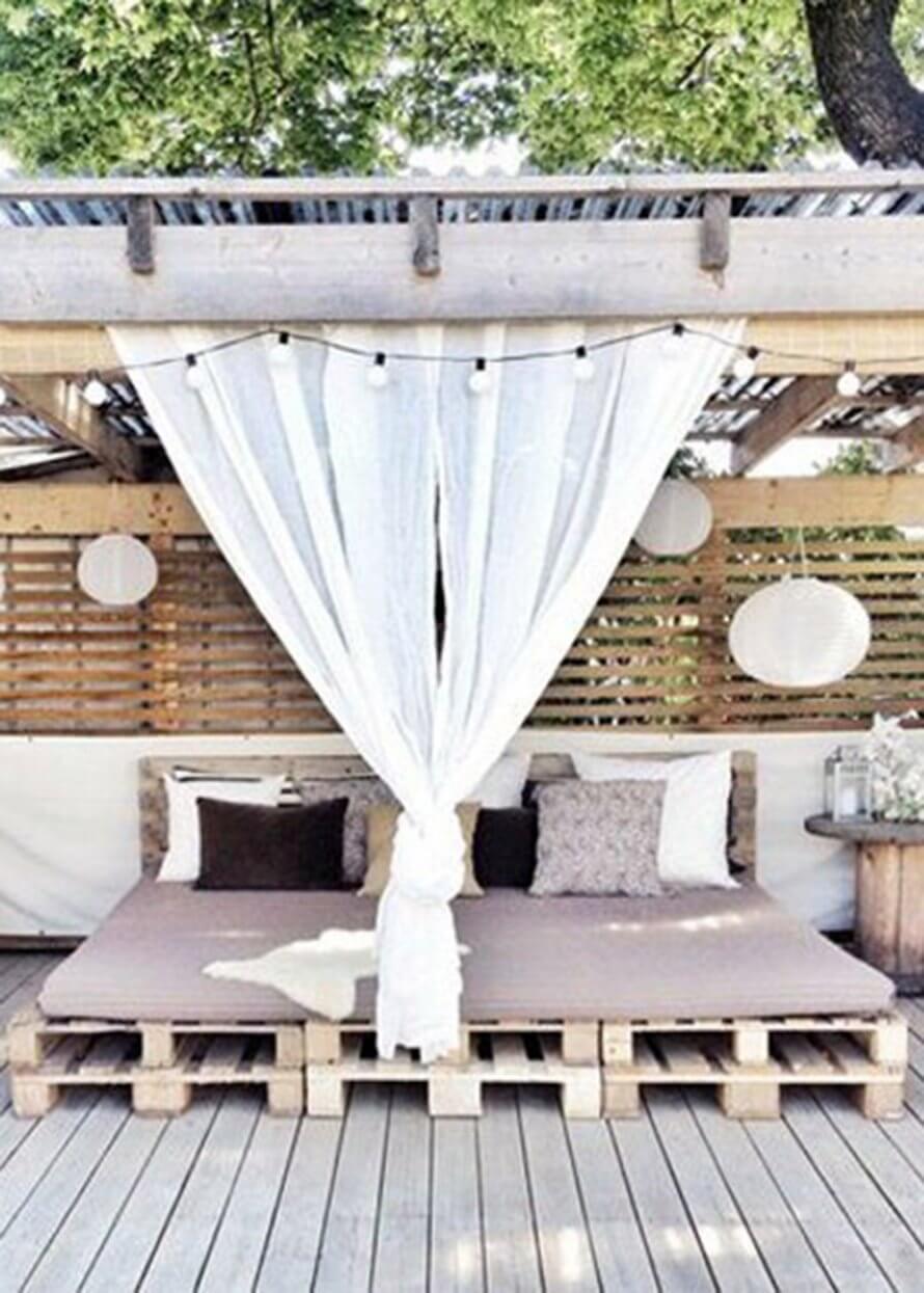 Des lits de jardin