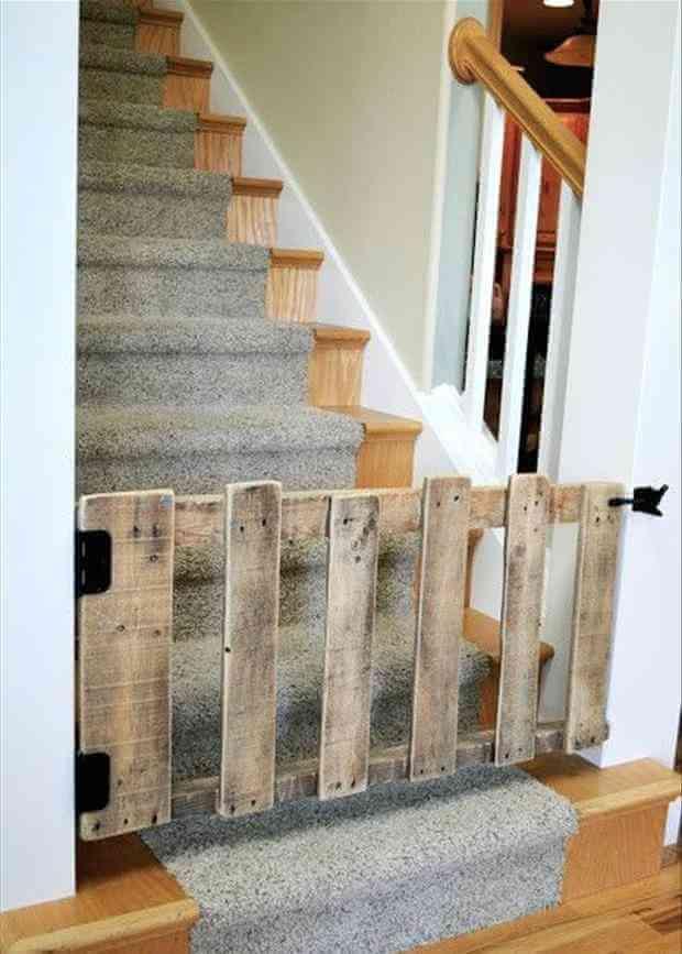 Barrière pour escalier