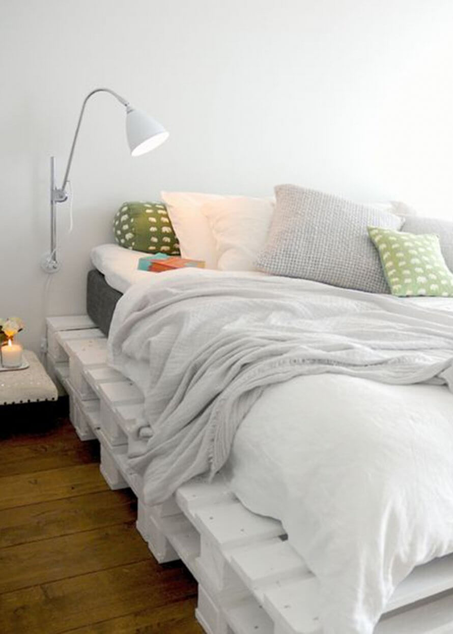 Un sommier de lit