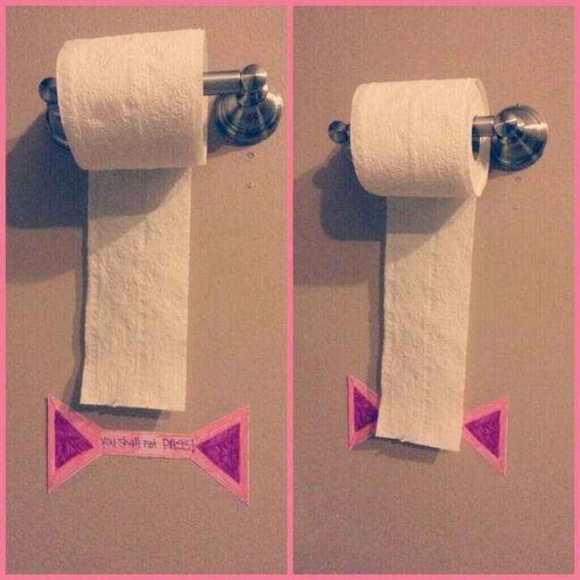 économiser papier toilette