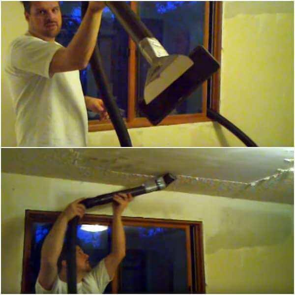 peinture aspirateur