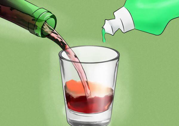 piège moucherons vin rouge