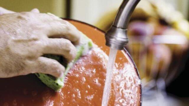dégraisser plats