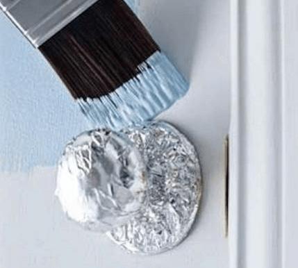 proteger poignées peinture