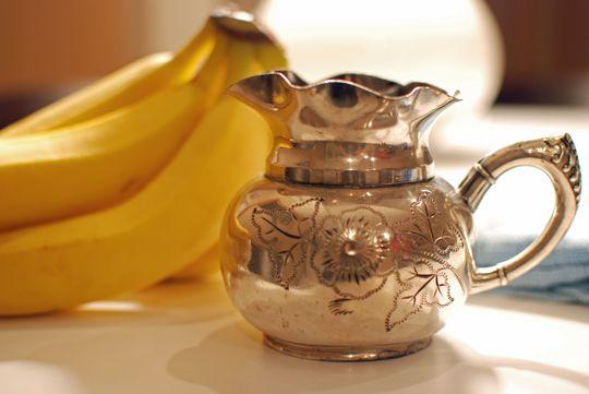 peau banane fait briller l'argent