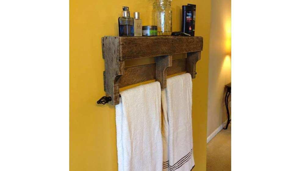Un porte serviette