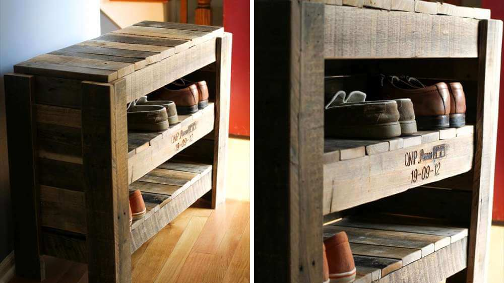50 utilisations incroyables de vieilles palettes en bois. Black Bedroom Furniture Sets. Home Design Ideas