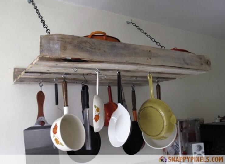 Suspendre des casseroles