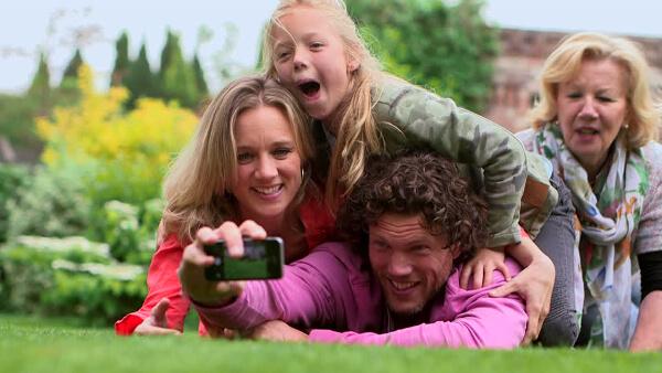 selfie famille