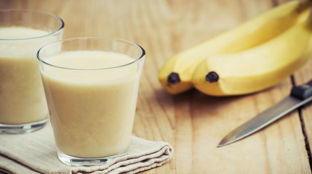 faire un smoothie avec peau de banane
