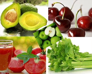 fruits et légumes brule graisse