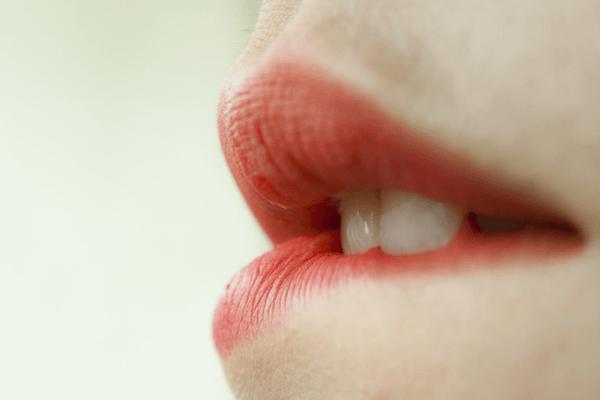 Des lèvres gercées