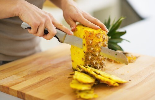 ananas fruit brule graisse
