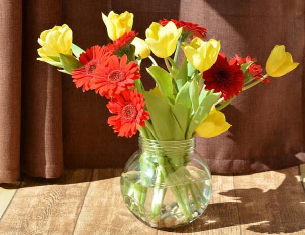 Pour mieux conserver un bouquet de fleurs