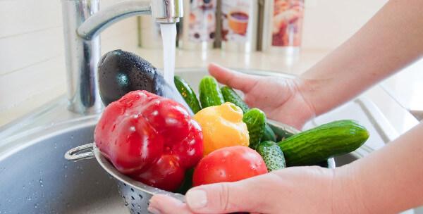 Pour nettoyer vos fruits et légumes