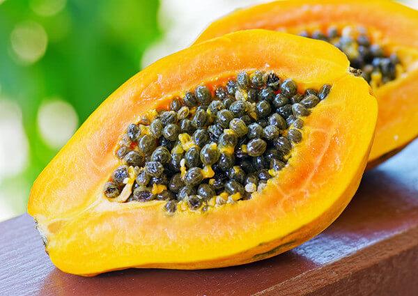 papaye fruit brule graisse