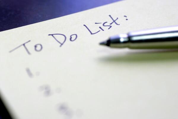 Faire une liste