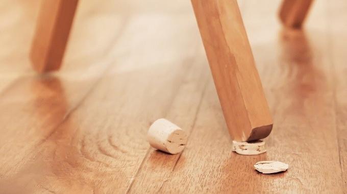 Les bouchons en liège : très pratique pour réparer les meubles et la maison à moindre coût...