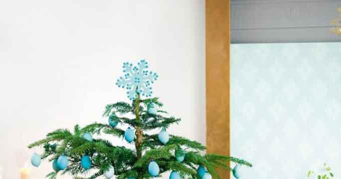 Une décoration pour le sapin de Noël