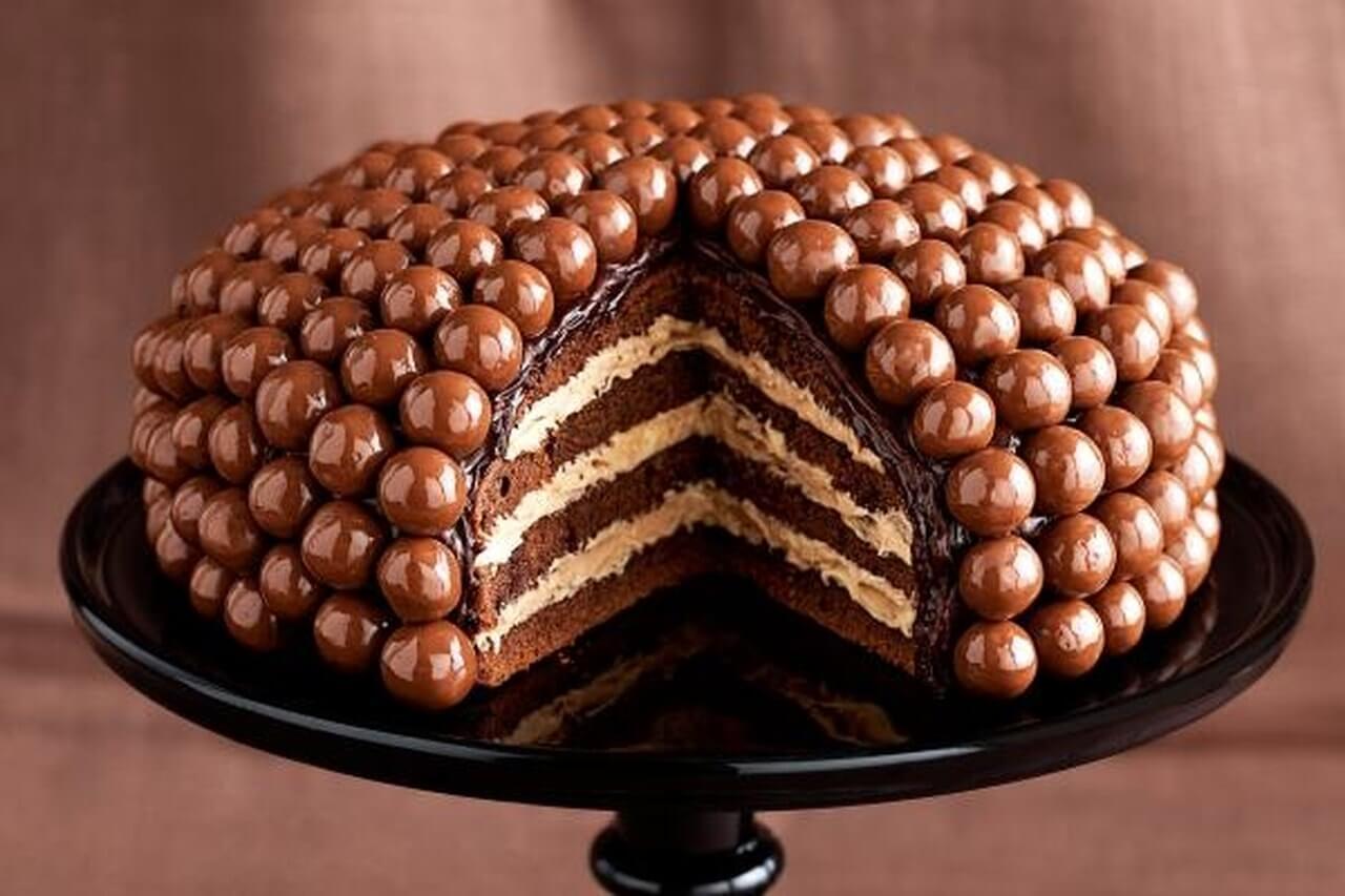 recette de gâteau maltesers