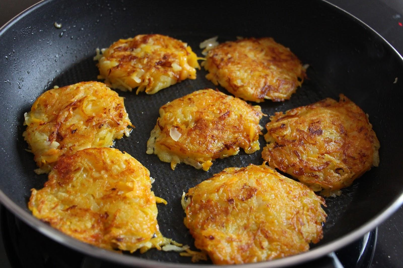 Röstis de pommes de terre