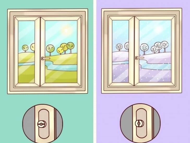 vitres à double vitrage