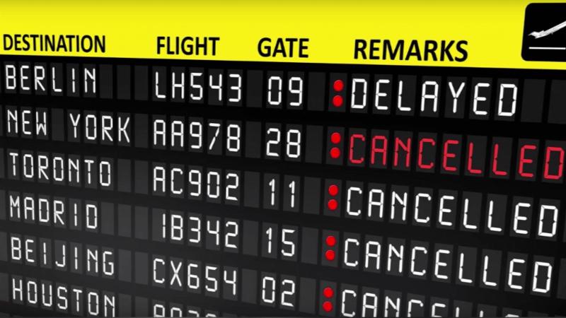 compensation si le voyage en avion est annulé