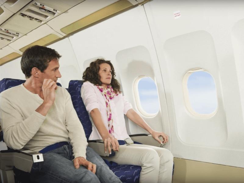 prendre son vol le matin quand on a peur pendant le voyage en avion