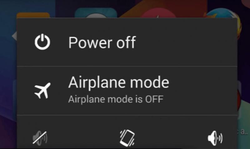 le mode avion pendant le voyage en avion