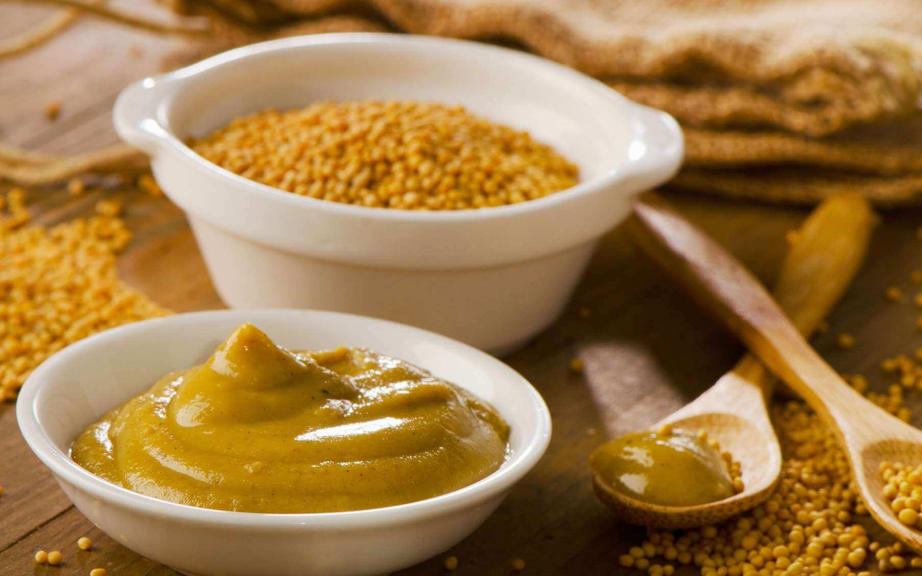 shampoings faits maison à base de moutarde