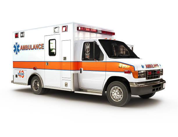 appelez une ambulance