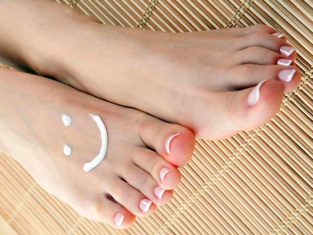 pour les pieds