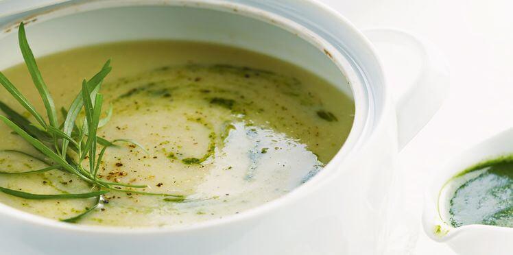 soupe d'artichauts et guarana