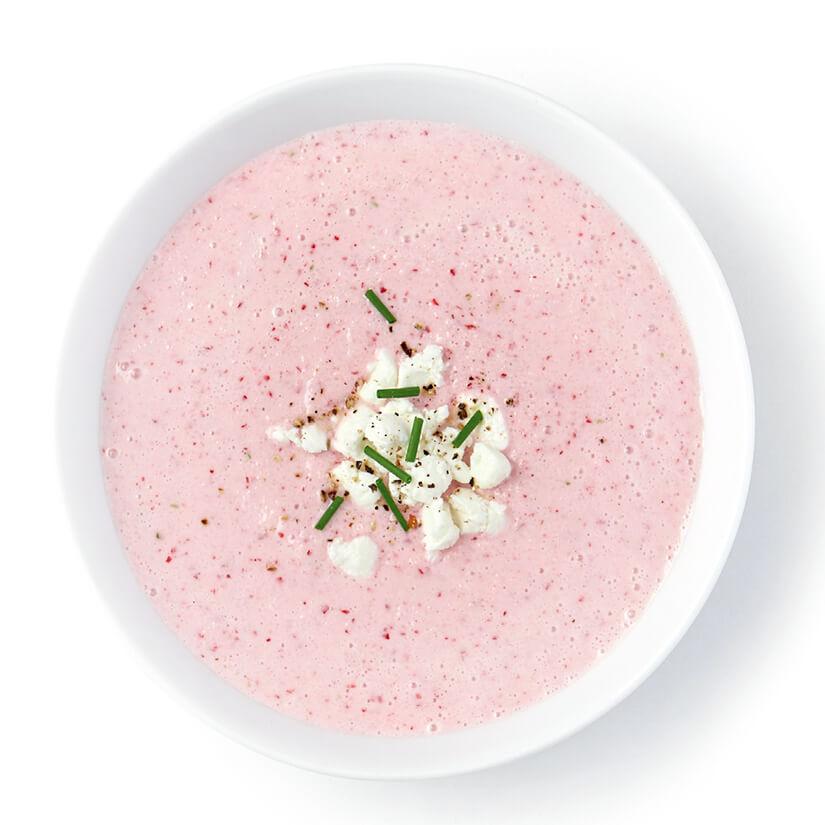 soupe froide de radis