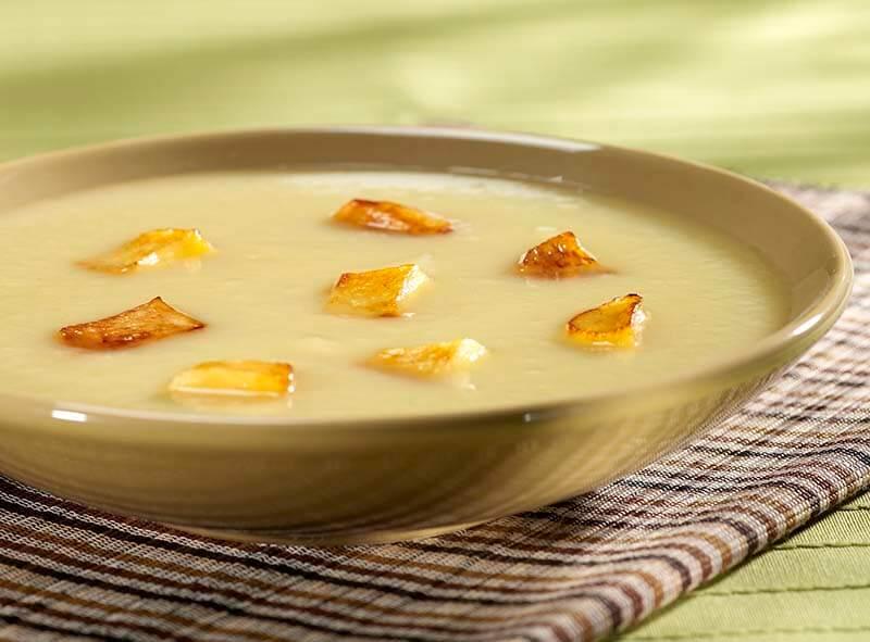 soupe pommes et oignons