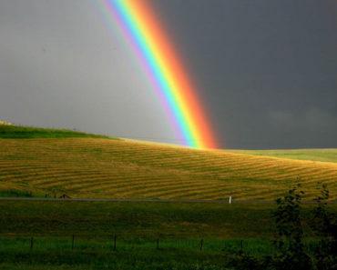 couleur de l'arc en ciel