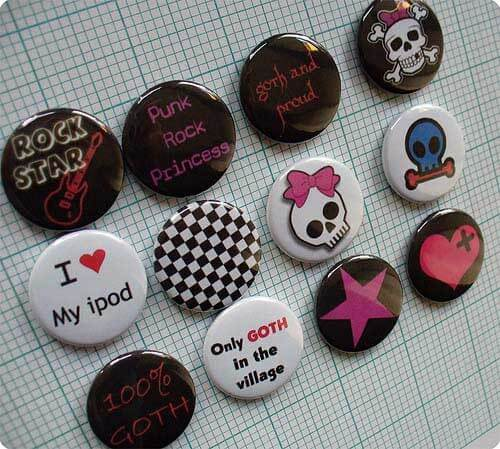 accessoires emo girl