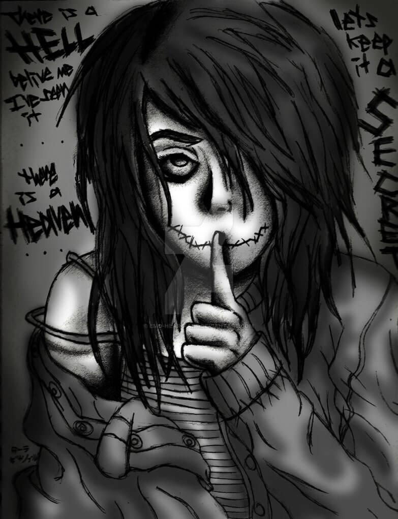 art emo girl