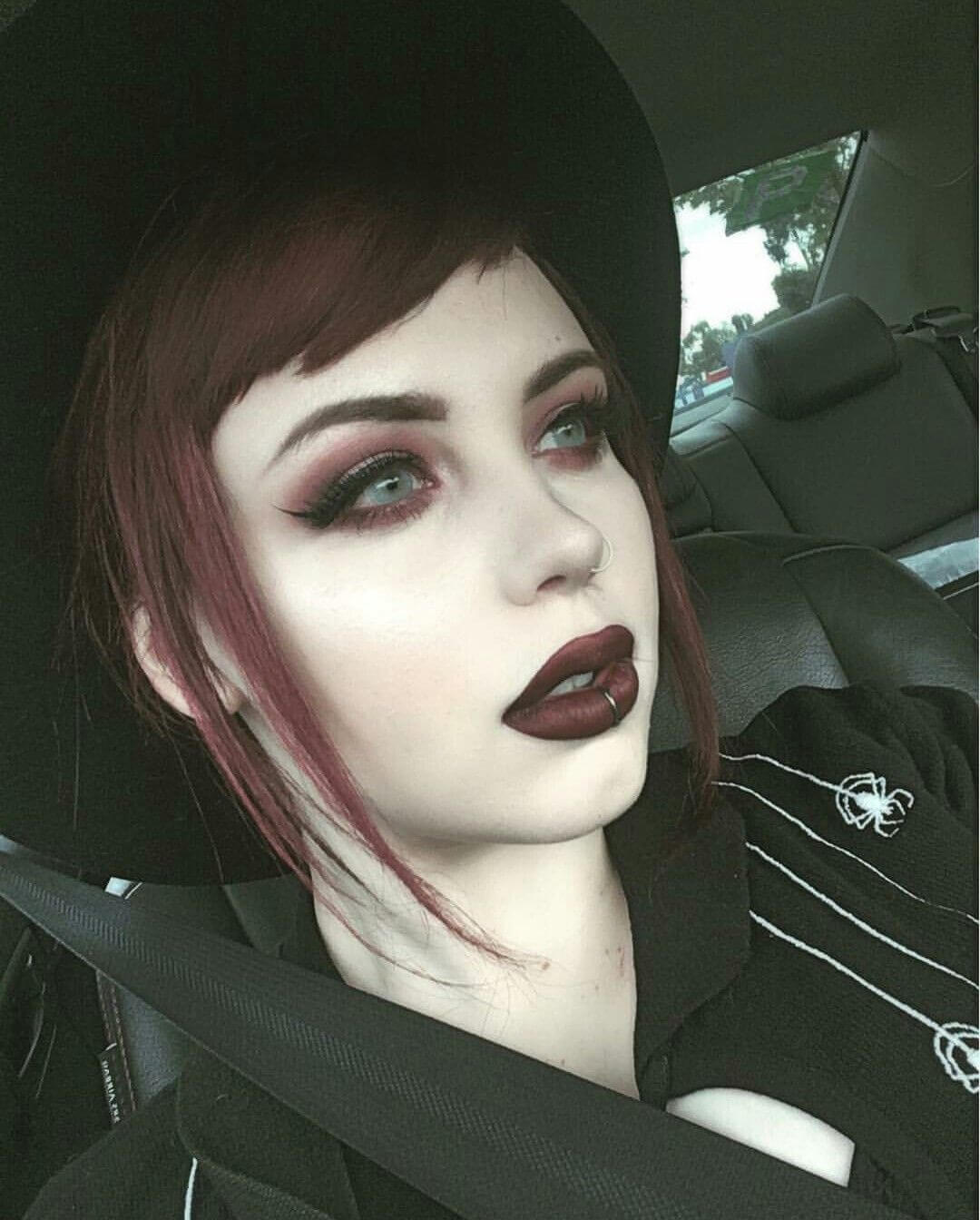 maquillage emo girl