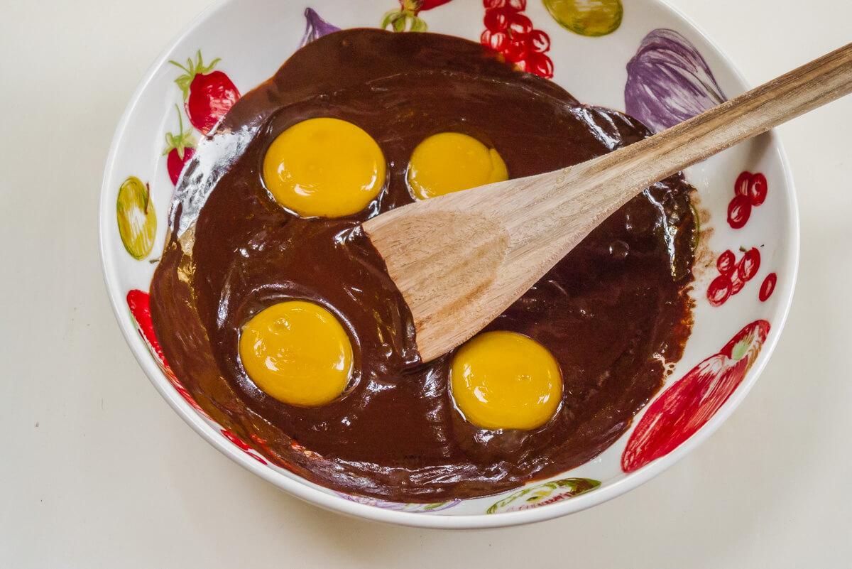 moelleux au chocolat préparation