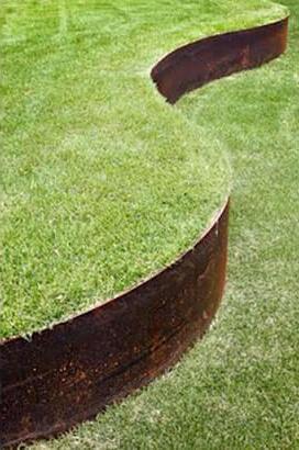 bordure jardin métal