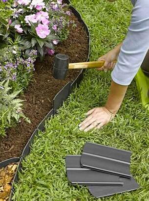 bordure jardin kit plastique
