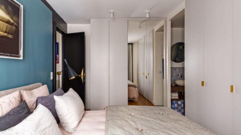 Chambre aux couleurs équilibrées
