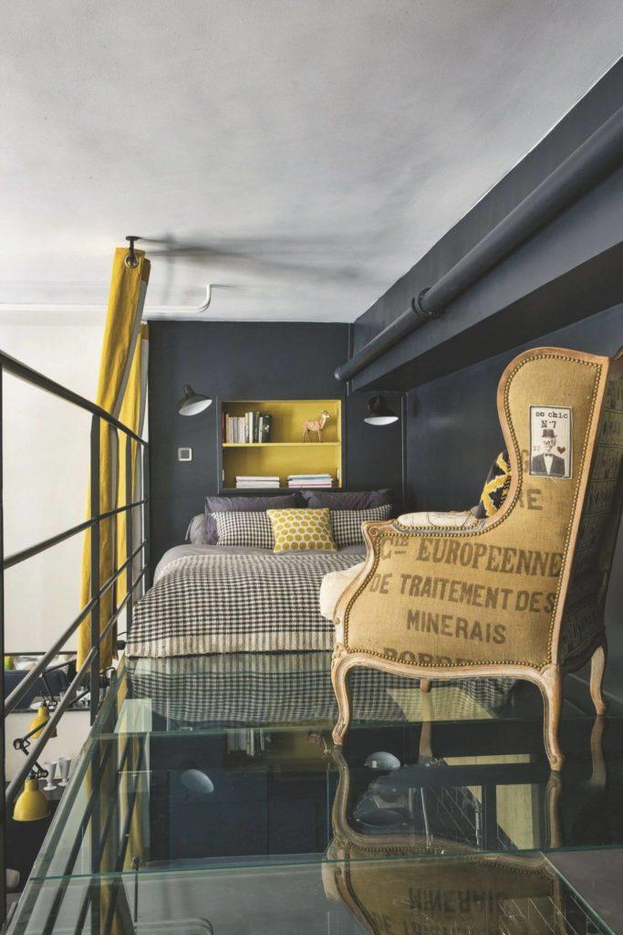 Chambre look industriel