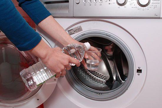 lave linge à l'eau oxygénée
