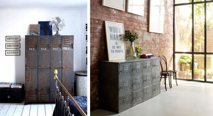 déco-industrielle-meuble-à-casiers